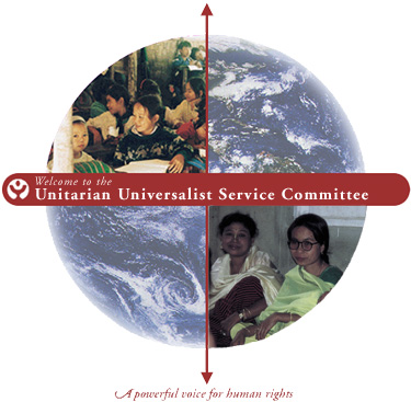 National and international UUSC emblem