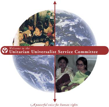 National and international UUSC emblem